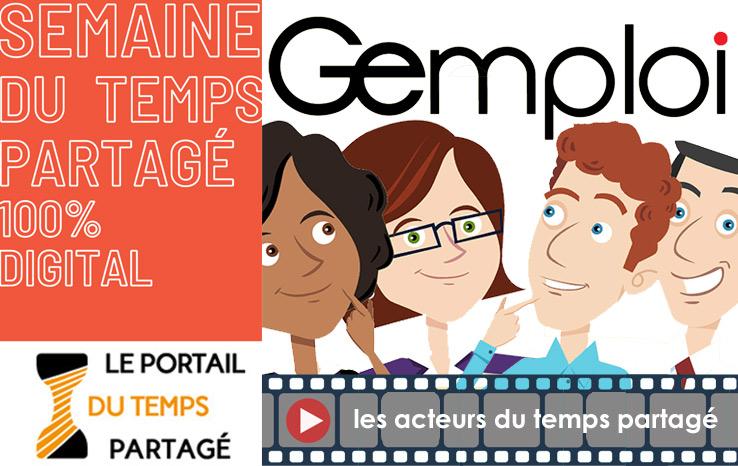 animation Gemploi pour le temps partagé